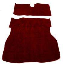 Mustang Hatch Area Carpet Red (79-83)