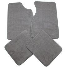 Mustang Dark Gray/Smoke Gray Floor Mats (84-89)