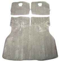 Mustang ACC Hatch Area Carpet Light Gray  (85-86) Hatchback