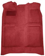 Mustang Floor Carpet Medium Red/Scarlet Red (83-92) Convertible