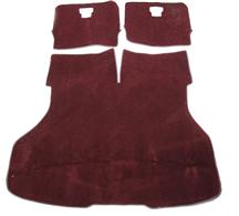 Mustang Hatch Area Carpet Ruby Red (93-93)