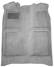Mustang Floor Carpet w/ Mass Back Opal Gray (1993) Coupe  Hatchback