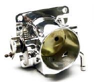Mustang Accufab 5.0L 90mm Polished Throttle Body (86-93)