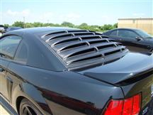 1994-04 Mustang Abs Plastic Rear Window Louvers.