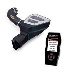 Mustang Airaid Cold Air Intake & Tuner Kit Black Filter (2015) 5.0
