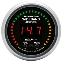 Auto Meter Sport Comp Wideband Air/Fuel Ratio Gauge 2 1/16""