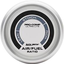 Autometer  Ultra-Lite Narrowband Air/Fuel Ratio Gauge  2 1/16""