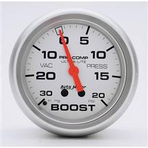 "Autometer  2 5/8"" Ultra-Lite 20 PSI Vacuum Boost Gauge"