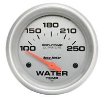 Autometer  Ultra Lite Short Sweep Coolant Gauge - 2 5/8""