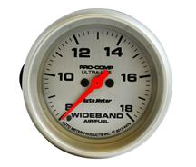 Auto Meter Air/Fuel Ratio Gauge Analog Wideband Ultra Lite