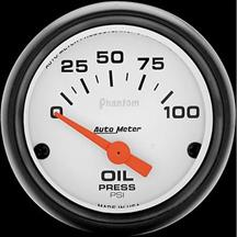 "Autometer  2 1/16"" Phantom Oil Pressure Gauge"