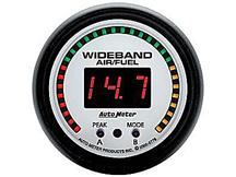 "Autometer  2 1/16"" Phantom Wideband Air/Fuel Ratio Gauge"