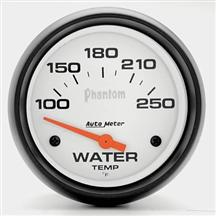 "Autometer  2 5/8"" Phantom Coolant Temp Gauge"