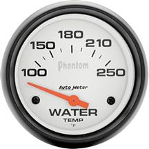 Autometer  Phantom Coolant Temp Gauge - 2 5/8""