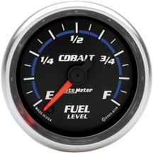 Auto Meter Cobalt Fuel Level Gauge 2 1/16""