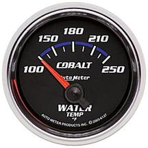 Auto Meter Cobalt Water Temperature Gauge 2 1/16""