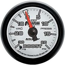 Auto Meter Phantom II Boost Gauge 2 1/16""