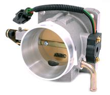 Mustang BBK 70mm Throttle Body Satin  (86-93) 5.0L