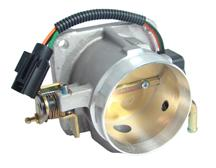 Mustang BBK 75mm Throttle Body Satin  (86-93) 5.0L