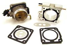 F-150 SVT Lightning BBK  75mm Throttle Body And Spacer Kit Satin (93-95) 5.8