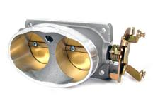 Mustang BBK  Twin 65mm Throttle Body Satin (96-01) 4V 4.6