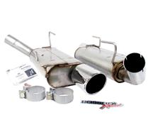Mustang Bassani Axle-Back Exhaust  (05-10) 4.6L 5.4L