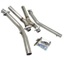 Mustang Bassani Off Road X-Pipe Stainless (94-95) 5.0