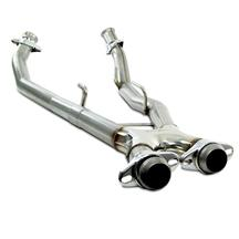 Mustang Bassani Off Road X-Pipe Aluminized (86-93) 5.0
