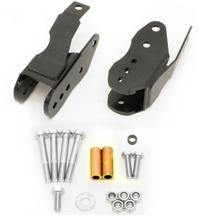 Mustang BMR Bolt-On Control Arm Relocation Brackets Black (05-14)