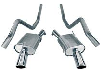 Mustang Borla Touring Cat Back Exhaust (07-09)