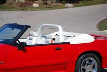 Mustang White Vinyl Light Bar (90-93)