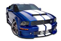Mustang Cervini's Ram Air Hood (05-09)