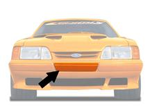 Mustang LX Front Saleen Style Bumper Filler (87-93)