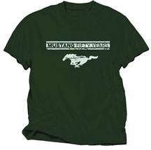 50 Years Mustang T-Shirt Medium Military Green