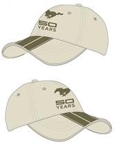 50 Years Mustang Hat Khaki