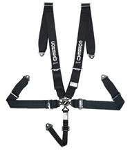 Corbeau 5 Point Camlock Harness Black