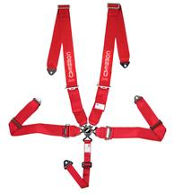 Corbeau 5 Point Camlock Harness Red
