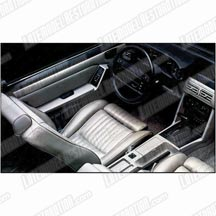 Mustang Leather Seat Upholstery