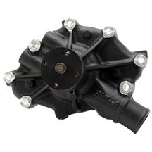 Mustang Edelbrock Victor Series High Volume Water Pump Black (86-93) 5.0