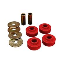 Mustang Energy Suspension IRS Differential Mount Bushing Kit Red (15-16)