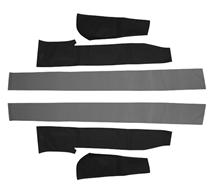 83-90 MUSTANG CONVERTIBLE TOP PAD SET