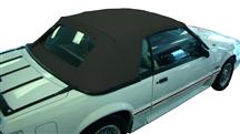Mustang Electron Top Convertible Top Black (83-90)