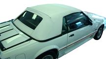 Mustang Electron Top Convertible Top White (83-90)