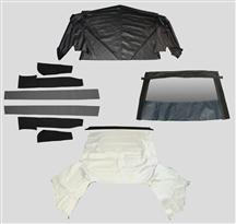 1983-90 Mustang White Convertible Top Kit