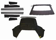 Mustang Economy Black Convertible Top Kit (91-93)