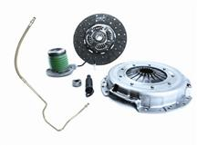 Mustang Exedy Mach 500 Stage 2 Clutch Kit, 10 Spline w/ Clutch Fluid Line Upgrade (05-10)