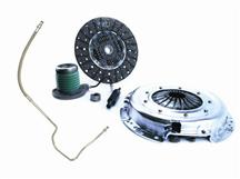 Mustang Exedy Mach 500 Stage 2 Clutch Kit, 26 Spline w/ Clutch Fluid Line Upgrade (05-10)