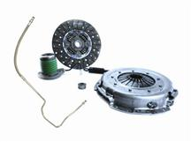 Mustang Exedy Mach 400 Stage 1 Clutch Kit, 26 Spline w/ Clutch Fluid Line Upgrade (05-10)