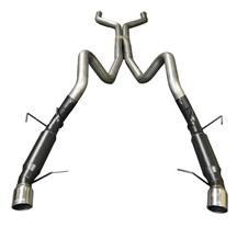 Mustang Flowmaster Outlaw 409S Stainless Cat Back Exhaust Kit (13-14)