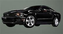 2011 Ford Mustang Wall Graphic